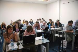 Слушатели Яндекс семинара